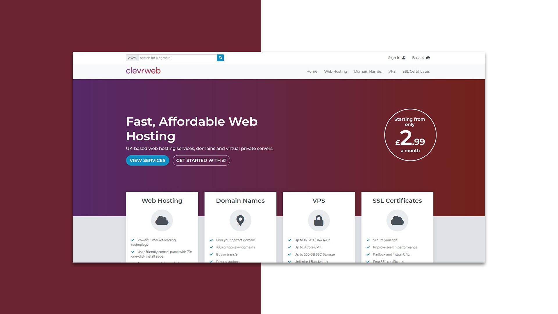 Clevrweb Hosting